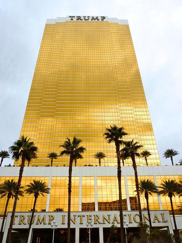 Hotel Trump en LAs Vegas, Nevada, Estados Unidos.