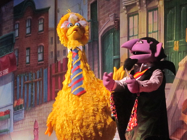 Big Bird And The Count Flickr Photo Sharing