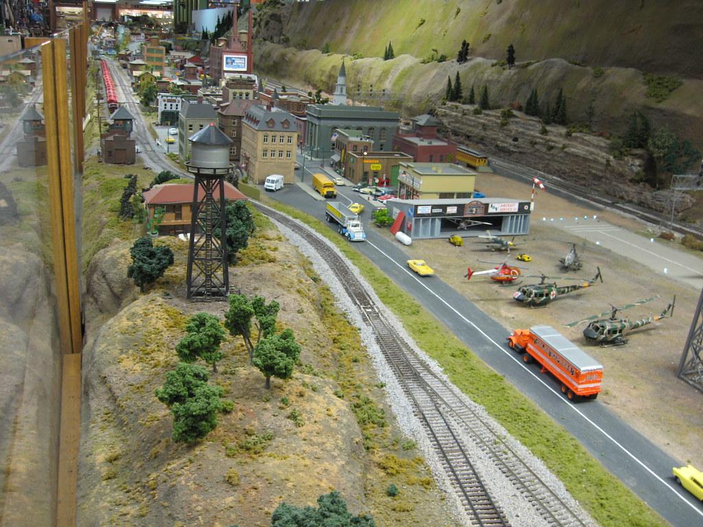 Medina Railroad Museum HO Scale Model Train Layout 88