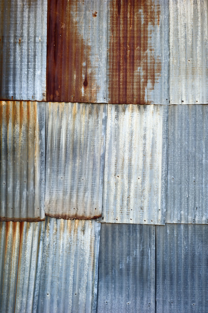 Tin Siding Texture Tin Siding From Old Building