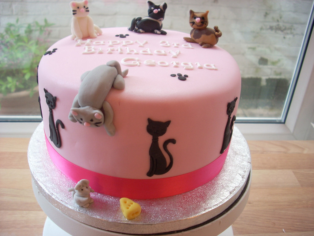 A Cat Lovers Birthday Cake