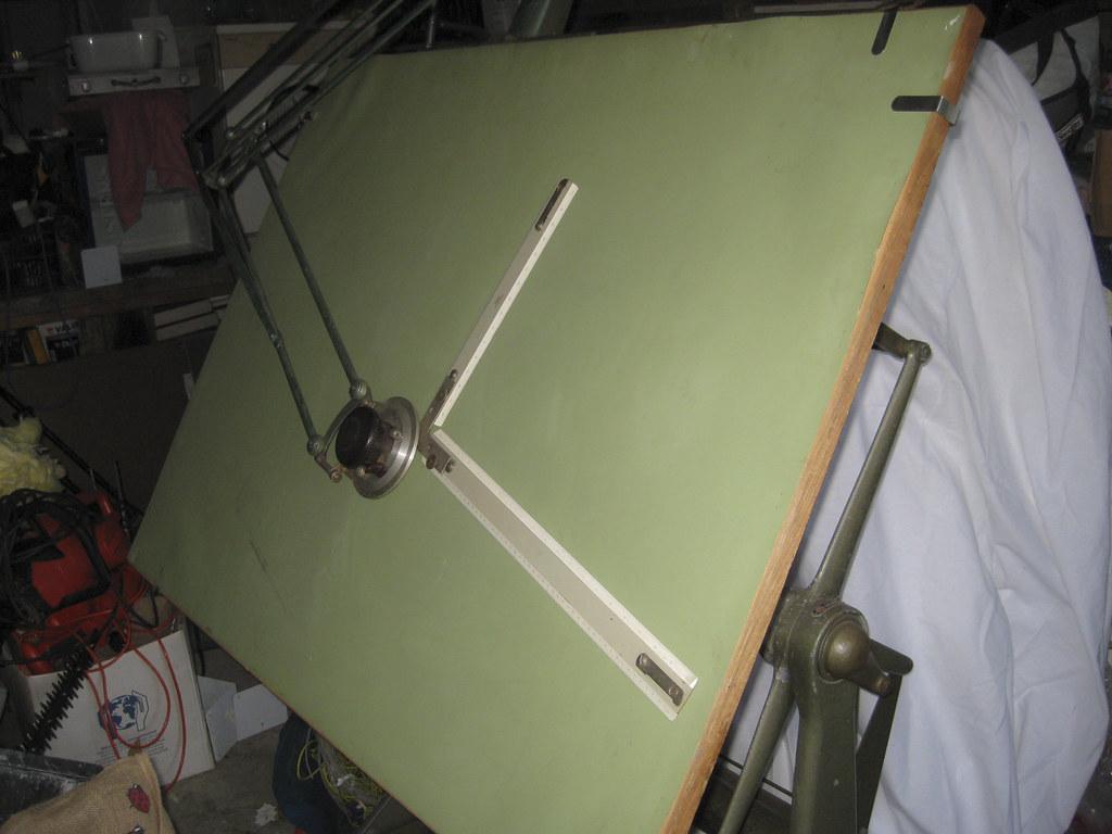 Admel Drawing Boards Vintage Industrial Resoration Project