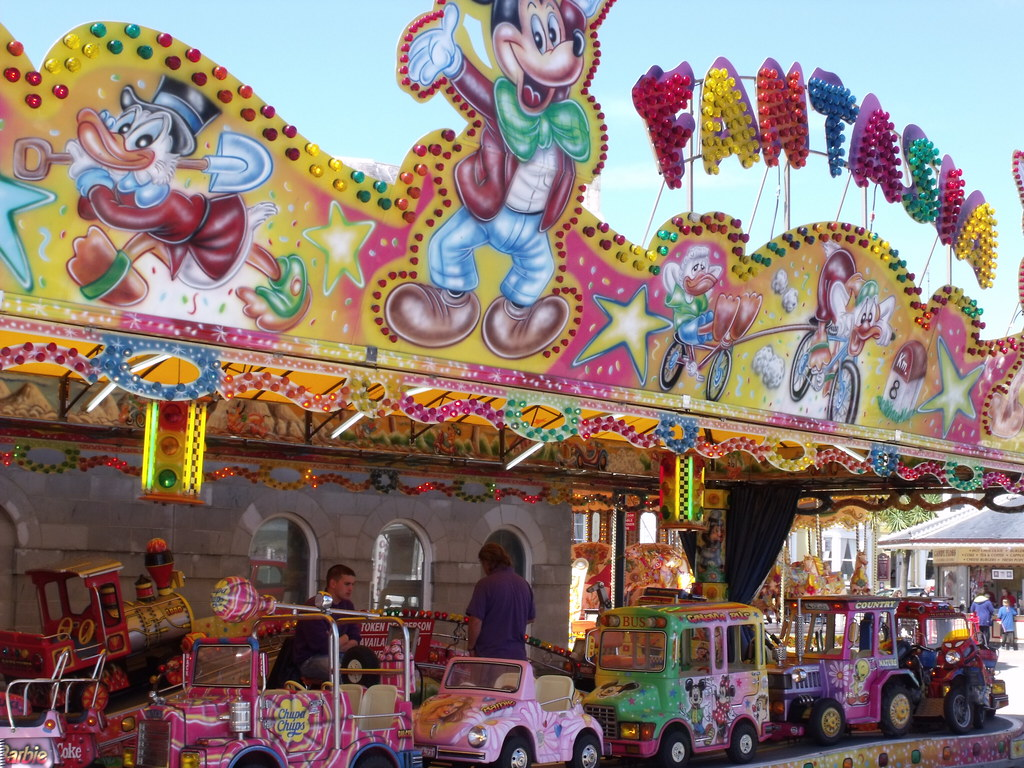 Alexandra Gardens Electric Palace Fun Fair The Espla