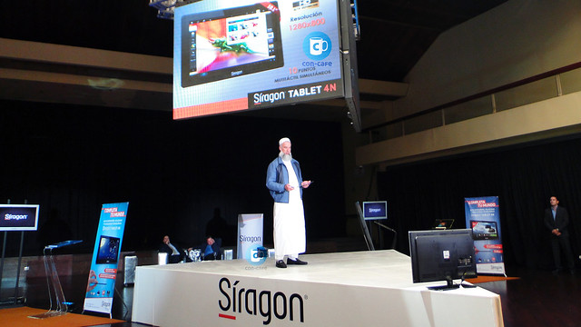 Passam Yusef, Presidente de Síragon Tableta Siragon 4N