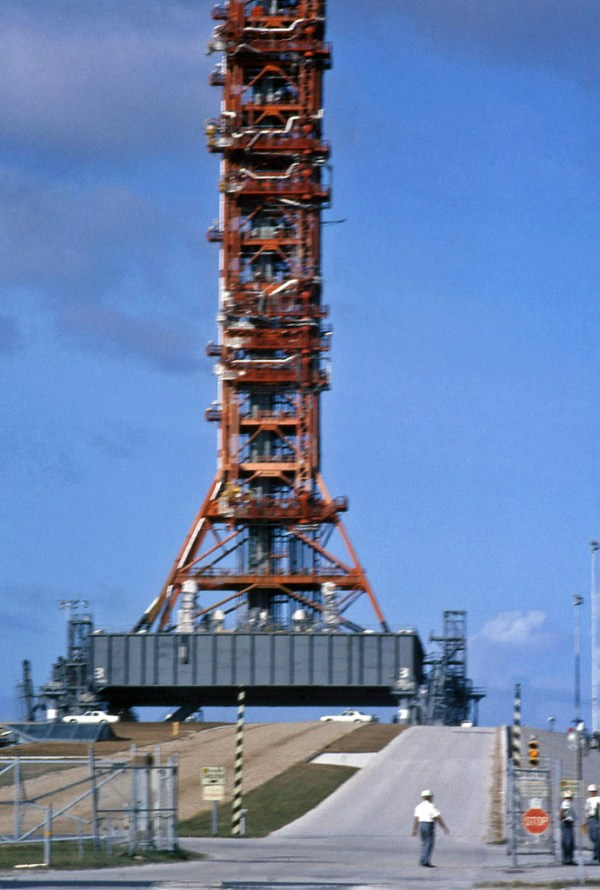 Pad39a post Apollo 17 launch December 7 1972 Visit