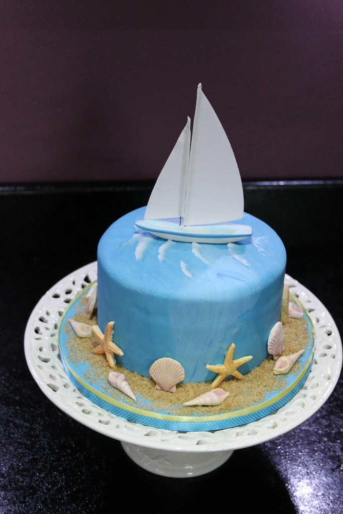 YACHT CAKE Yacht Cake I Did For My Dad On Fathers Day