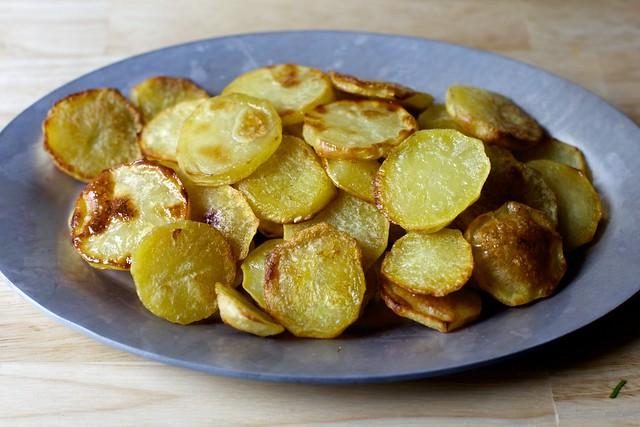 roasted potato coins