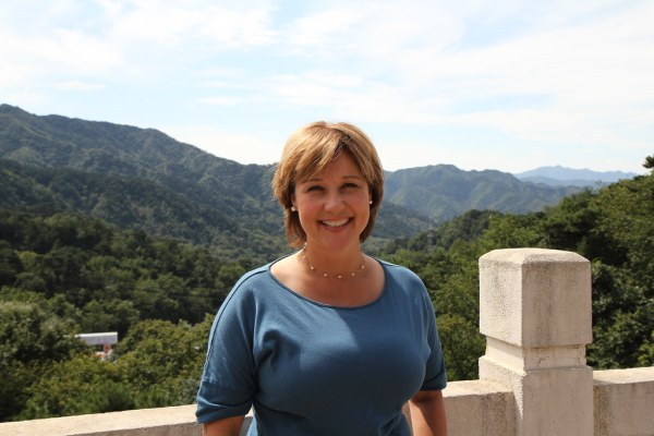 Premier Christy Clark at the Great Wall | At the wrap up ...