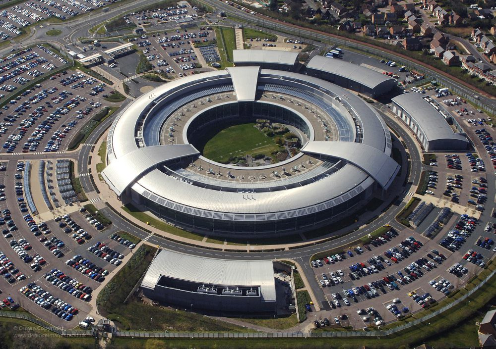 Gchq Building At Cheltenham Gloucestershire An Aerial