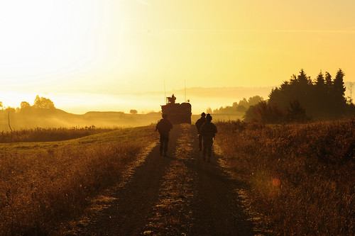 Early Morning Patrol | Soldiers of U.S. Army Europe's 2nd ...