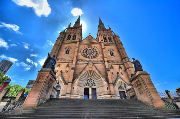 St Mary's Cathedral, Sydney | HDR of St. Mary's Cathedral ...