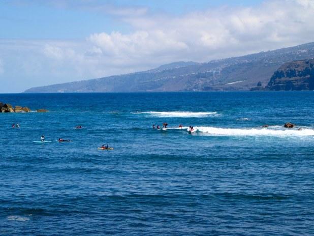 Surf Playa Martianez Puerto de la Cruz
