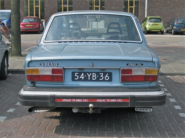VOLVO 264 GL Automatic, 1976 | 6 cylinder engine runs on ...