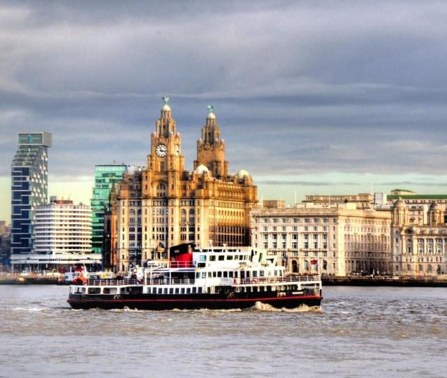 Mersey View By Tony Shertila