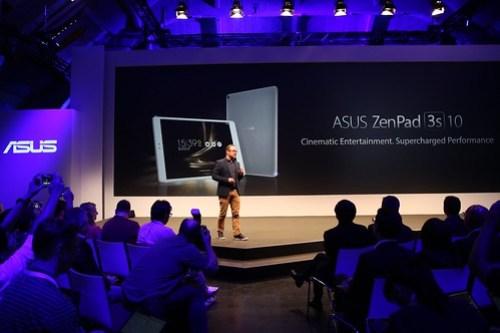La ASUS ZenPad 3S 10 fue presentada en la iFA16 en Berlín, Alemania.