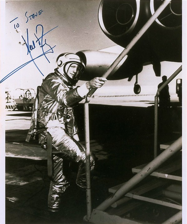 Neil Armstrong — Test Pilot | His classic smile from 1961 ...