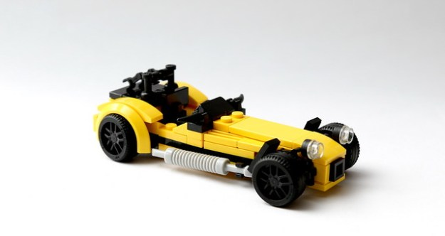 caterham seven lego city edition the brothers brick the brothers brick. Black Bedroom Furniture Sets. Home Design Ideas
