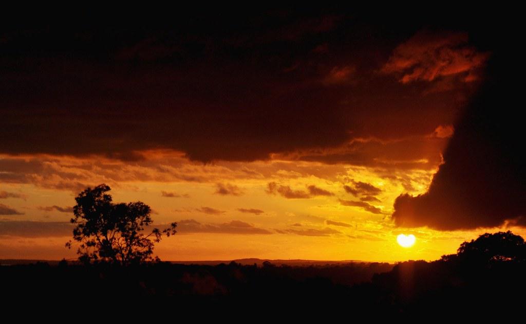 Dark Sunrise Sydney Is Having Erratic Weather With