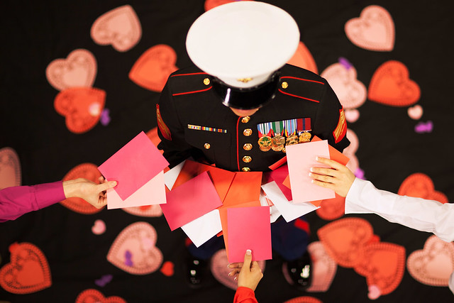 Happy Valentine's Day, Marines