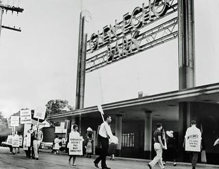 Glen Echo Integration Picket Line: 1960