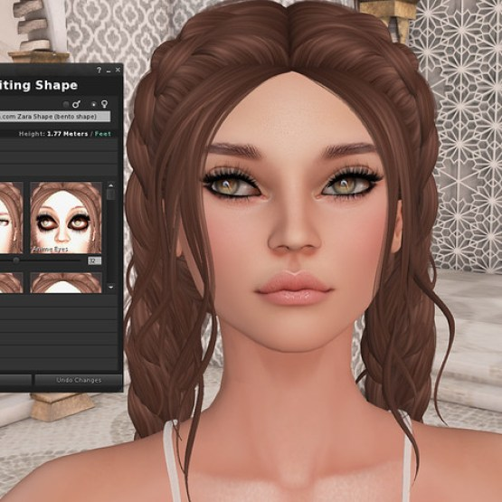 Project Bento Mesh Head Preview from Akeruka