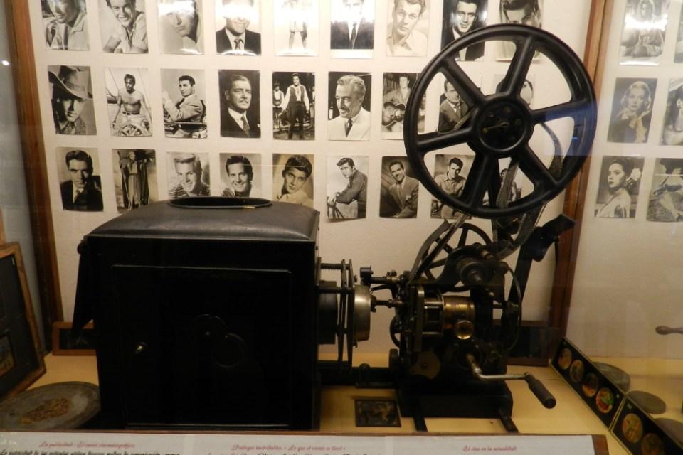 Museo Lara proyectores de cine Ronda Málaga 01