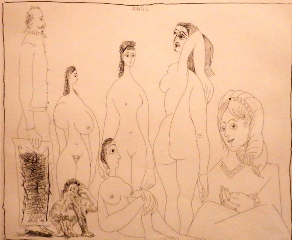Aguafuerte de Picasso Museo Peinado Ronda Malaga 05