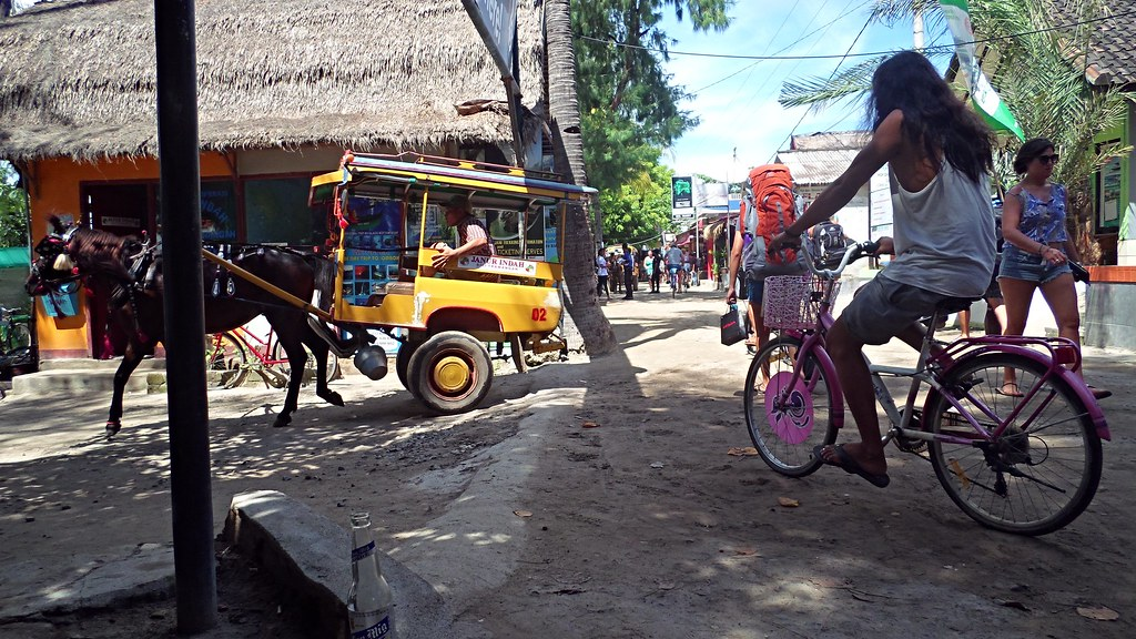 Gili Travangan, Indonesia