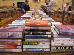Library book sale 2013