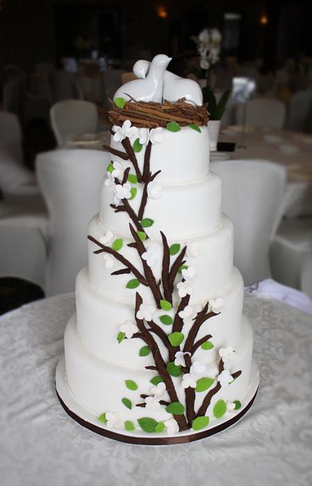 Nature Inspired Wedding Cake Visit My Blog At Www