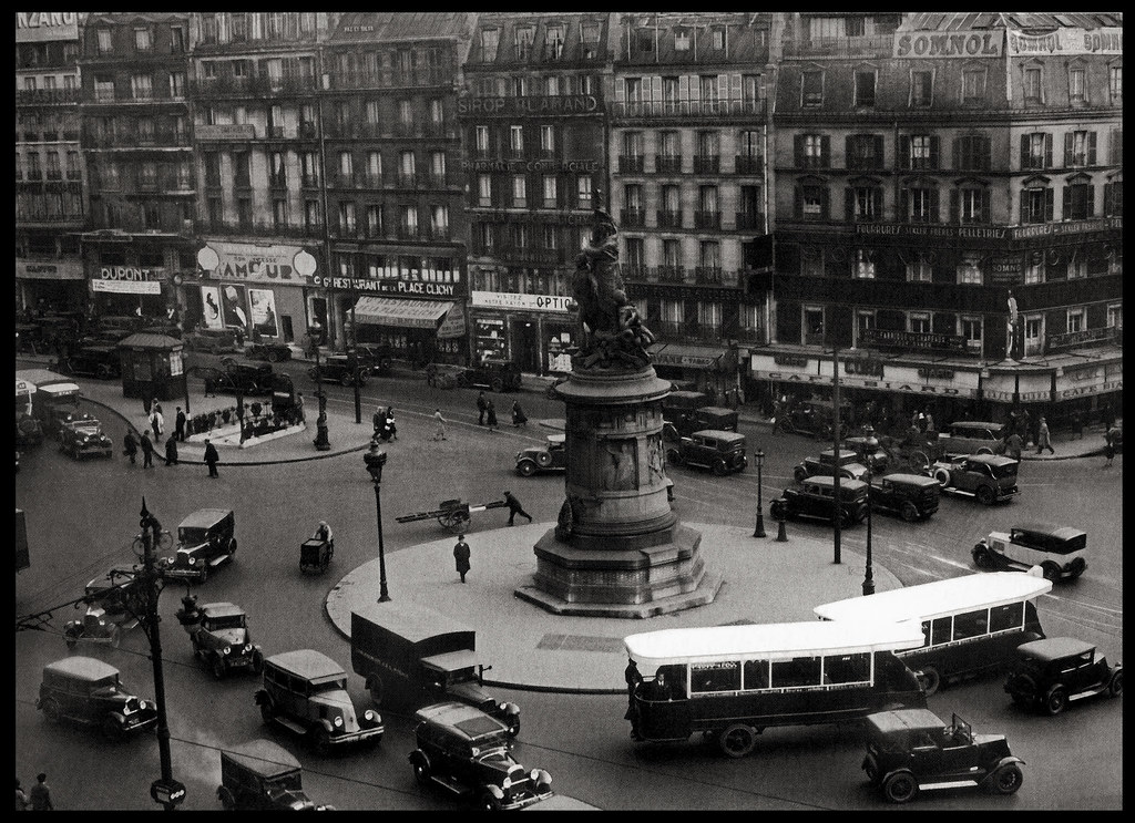 1930 Place Clichy Paris Flickr Photo Sharing