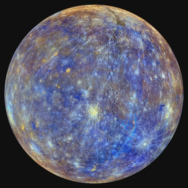 Watch Mercury Spin on its Axis [hd video]   This movie ...