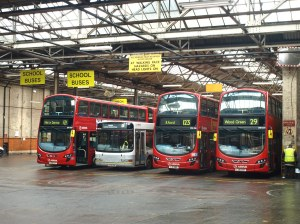Wood Green Bus Garage 11042013 | A view inside Arriva Lond… | Flickr