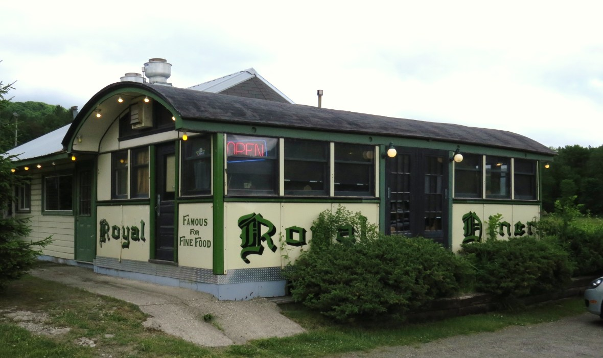 Chelsea Royal Diner - 487 Marlboro Road, West Brattleboro, Vermont U.S.A. - June 13, 2016