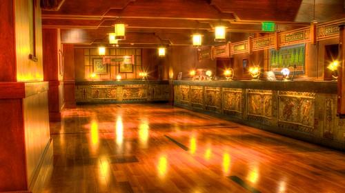 Grand Californian Hotel Lobby