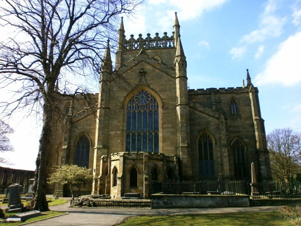 Dunfermline Abbey Church in Fife Scotland 1000 views on