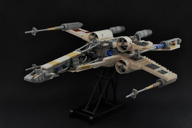 T-65 X-wing: V2 (cross-section 1)
