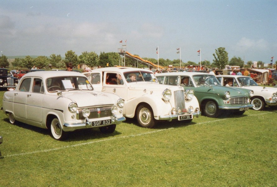 1961 austin cars » Classic British car line up   Ford Consul Mk 1  1955   Austi      Flickr     Classic British car line up   by andreboeni