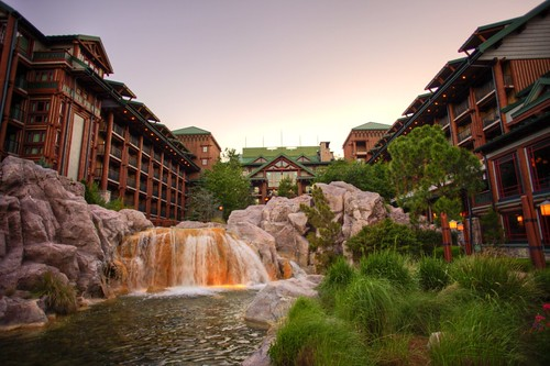 What a place to wake up in (Disney's Wilderness Lodge)