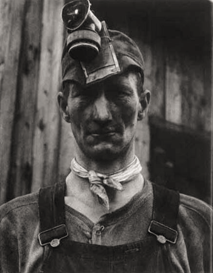 Pennsylvania Coal Miner by John Collier, exhibited in Steichen's The Bitter Years.