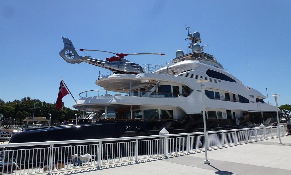 Super Yacht Attessa In San Diego Wwwsuperyachttimescom