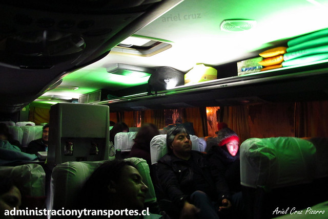 Buses Liquiñe | Villarrica | Busscar Panorâmico DD - Mercedes Benz / BDHB33