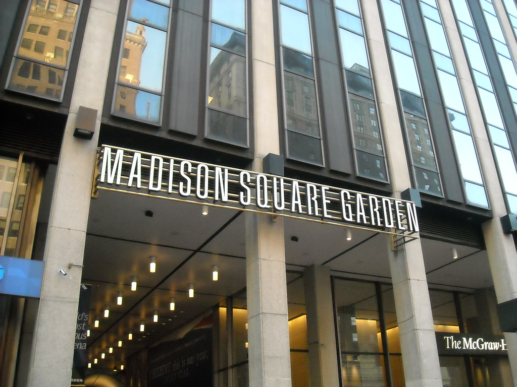 Outside Madison Square Garden Daniel Flickr