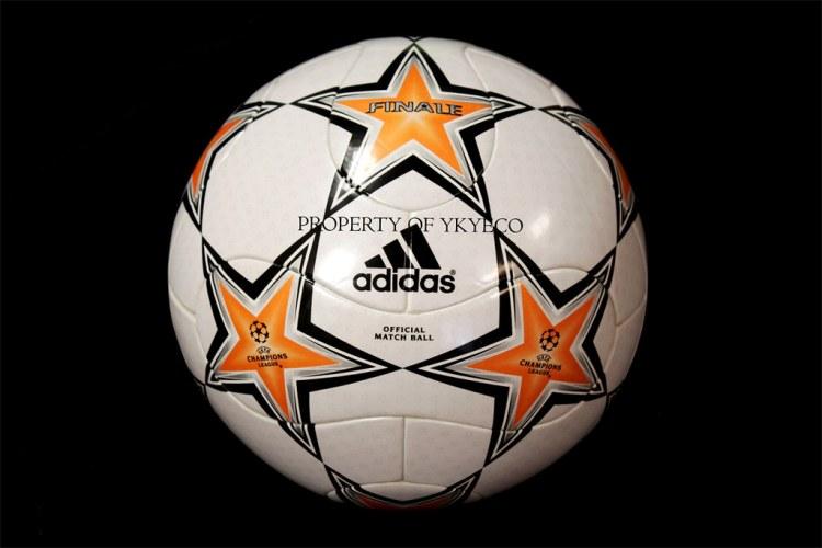 UEFA CHAMPIONS LEAGUE FINALE 7 2007-08 ADIDAS MATCH BALL 0 ...