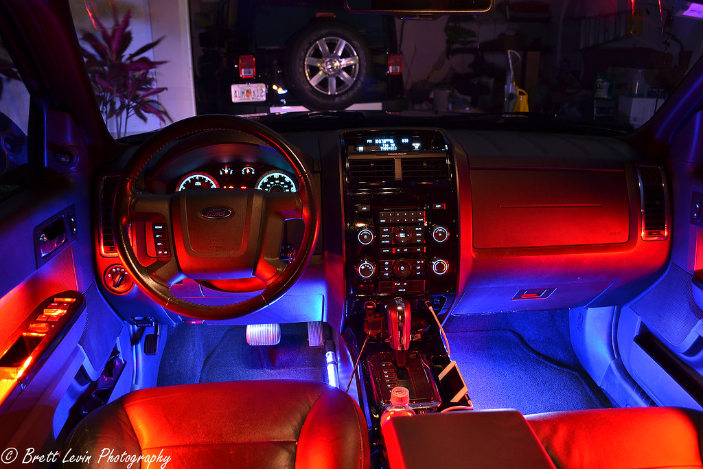 Custom Interior Lighting This Is A Shot I Took Of My