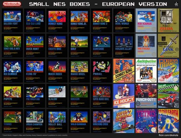 Nintendo Entertainment System European Version small