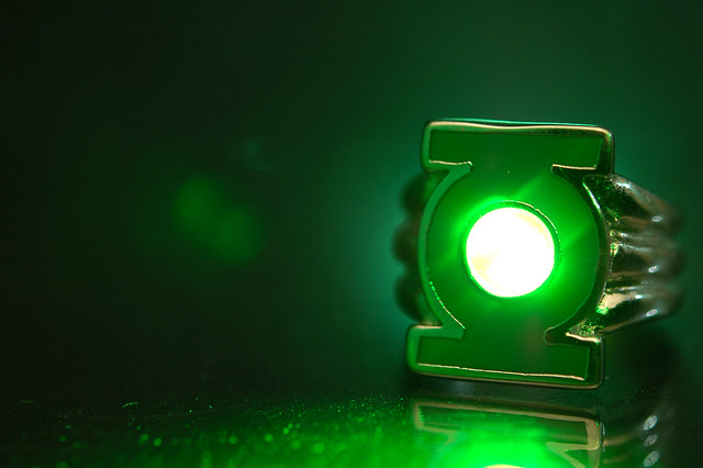 Green Lantern S Power Ring Flickr Photo Sharing