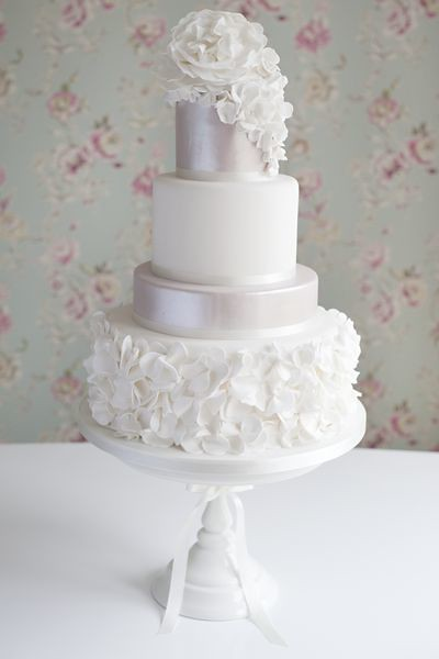 Ruffles Wedding Cake Something A Little Bit Different