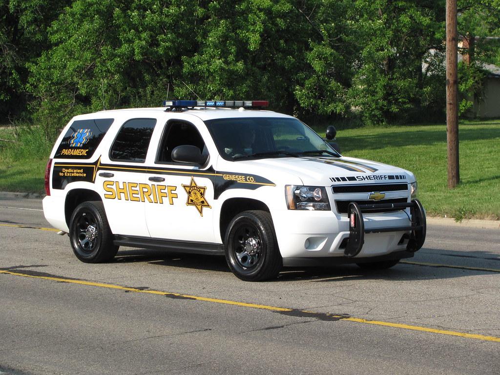 Genesee County Sheriff Chevrolet Tahoe Of The Genesee