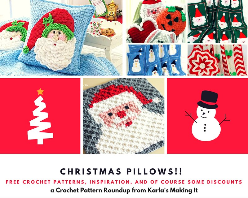 Christmas Pillows!! blog photo